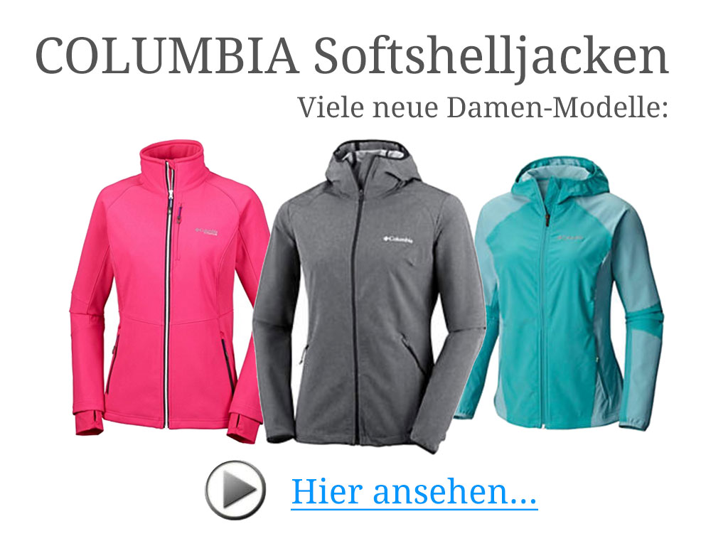 Columbia Softshelljacken