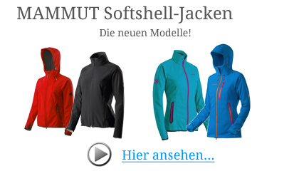 Mammut Softshelljacken