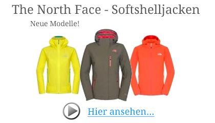 The North Face Softshelljacken für Damen