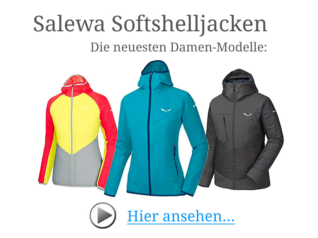Salewa Softshelljacken neue Kollektion