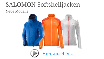 Salomon Softshelljacken