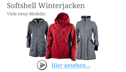 Softshell Winterjacken für Damen