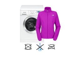 Jacke waschen auf links
