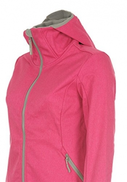 Bench softshell jacke damen pink
