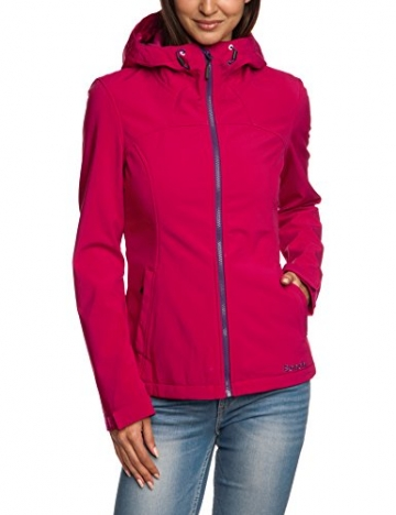Bench Found Damen Softshelljacke Rot