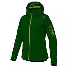 CMP Softshelljacke & Weste Damen Grün, lang geschnitten 3A05396