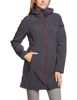 CMP Softshellmantel Damen Grau Antracite 3A26846