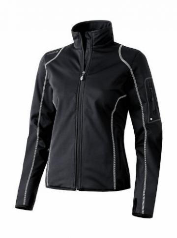 Erima Lite Active Wear Softshelljacke Damen schwarz