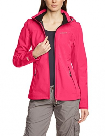 Icepeak Leonie Damen Softshell Jacke pink