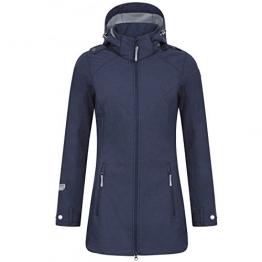 Icepeak Softshell-Mantel Lotte Damen dunkelblau