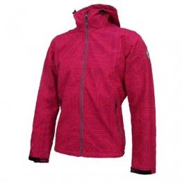 Killtec Peninsula Softshelljacke Damen Pink mit Muster