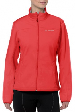 Vaude Wintry II Softshelljacke Damen, leuchtend rot