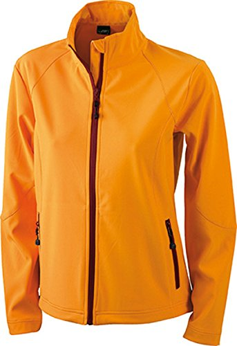 James & Nicholson Softshelljacke Damen Orange (JN1021) -