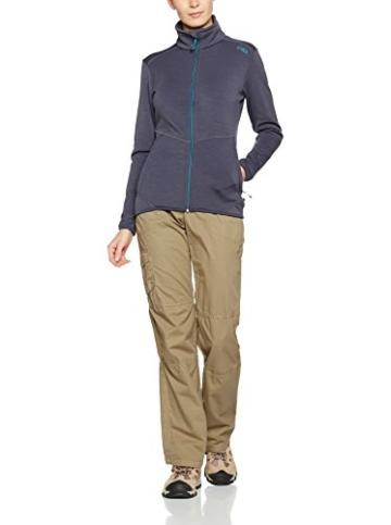 CMP Merino 3E22866: Leichte, dünne Softshell-Übergangsjacke Damen Grau -