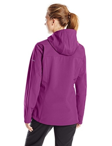 Columbia Kruser Ridge™ Softshelljacke Damen Lila / Violett mit Kapuze -