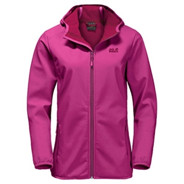 Jack Wolfskin Nothern Point Damen-Softshelljacke Lila / Violett -