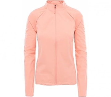 north-face-inlux-softshelljacke-damen-orange-korall