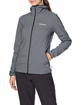 Columbia Damen Softshelljacke Heather grau Kapuze