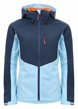 Icepeak Softshelljacke Barby in eisblau