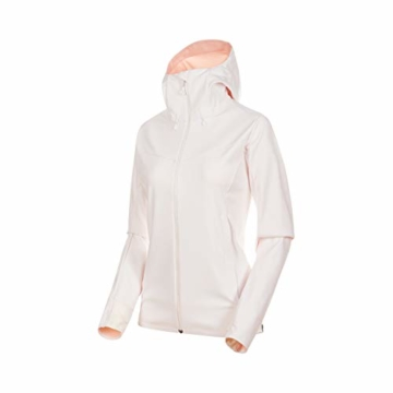 Mammut Damen Ultimate V Softshell-Jacke Kapuze rosé -