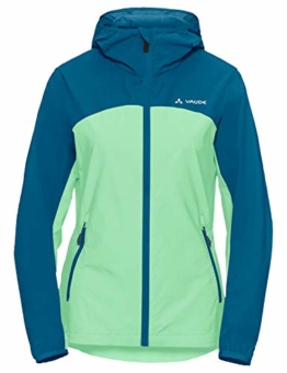 Vaude Softshelljacke Damen Moab Jacket III grün