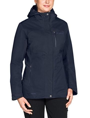 Vaude Softshell Damen Miskanti 3-in-1 Jacke Multi-Colour/Eclipse